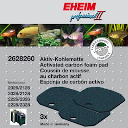 Eheim Carbon Filter Pads 2026 / 2128 ,2226-2328 x 3