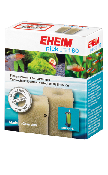 Eheim Filter Cartridges 2010 / Pickup 160 x 2