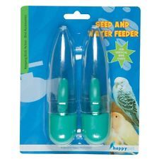 Happy Pet Seed & Water Feeders