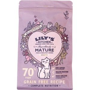 Lilys Kitchen Marvellously Mature Dry Food for Cats 800g