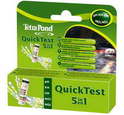 Tetra Pond Quick Test 5 in 1 Strips
