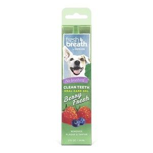 TropiClean Clean Teeth Oral Care Gel Berry Fresh 59ml