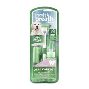TropiClean Fresh Breath Puppy Oral Care Kit 59ml