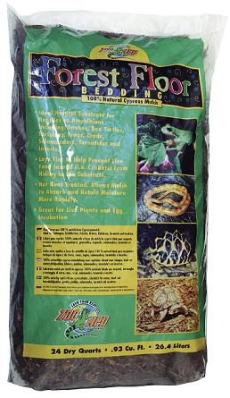 Zoo Med Forest Floor Bedding 26 4l Substrate Reptiles